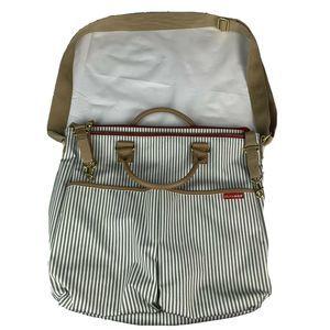 Skip Hop Stripe Messenger Diaper Bag Crossbody